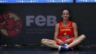 Laia Palau con la selección española