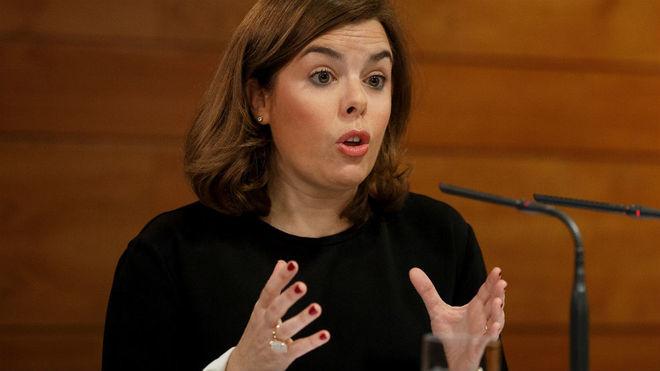 La exvicepresidenta Sáenz de Santamaría ha comunicado al líder del...