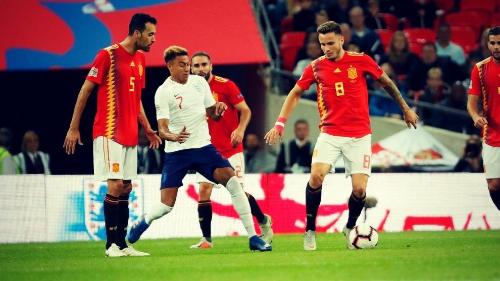 Saúl fue uno de los jugadores más destacados de España en el debut...
