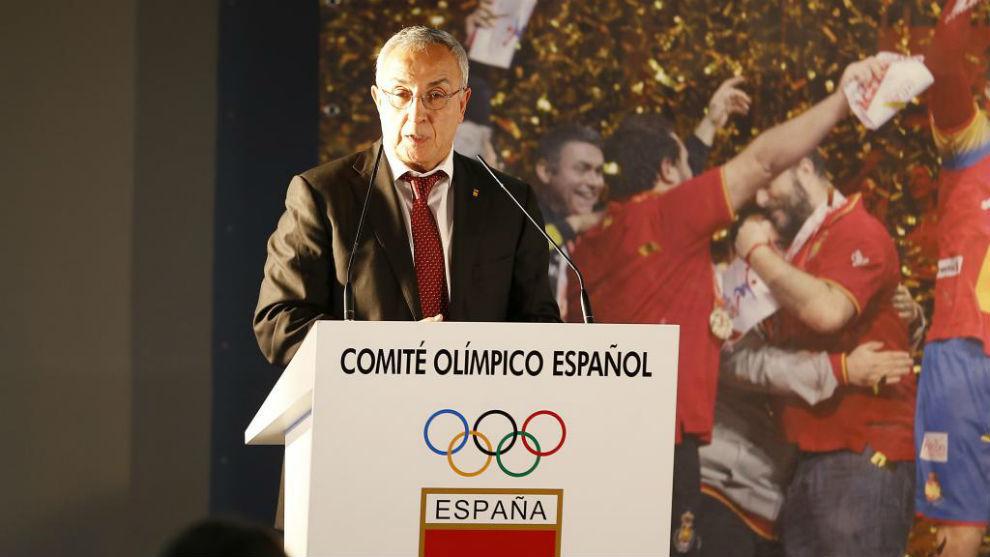 Alejandro Blanco, durante una presentación