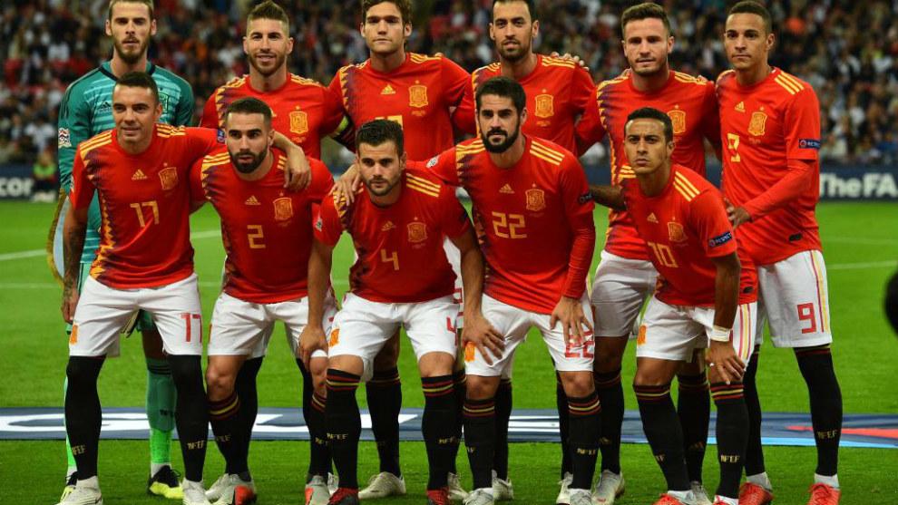 España se enfrenta a Croacia esta noche en le partido de UEFA Nations...