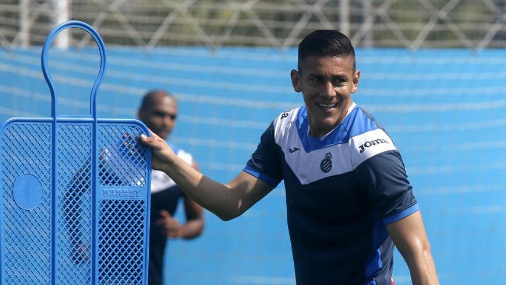 Óscar Duarte, durante una sesión.
