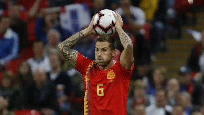Inigo Martinez has played more matches for his country this season...