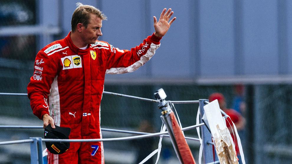 Ferrari anuncia la marcha de Raikkonen a final de temporada
