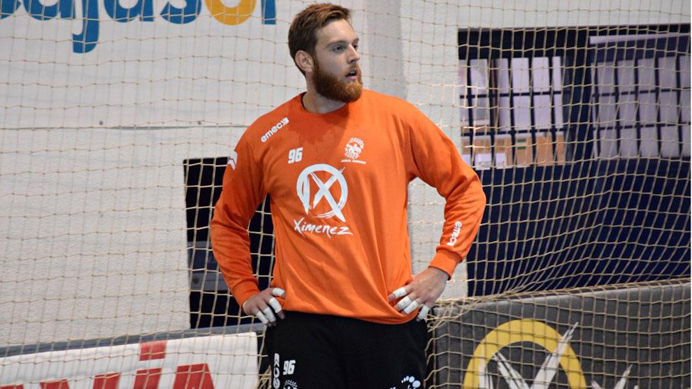 El guardameta francés Adrian Lombès