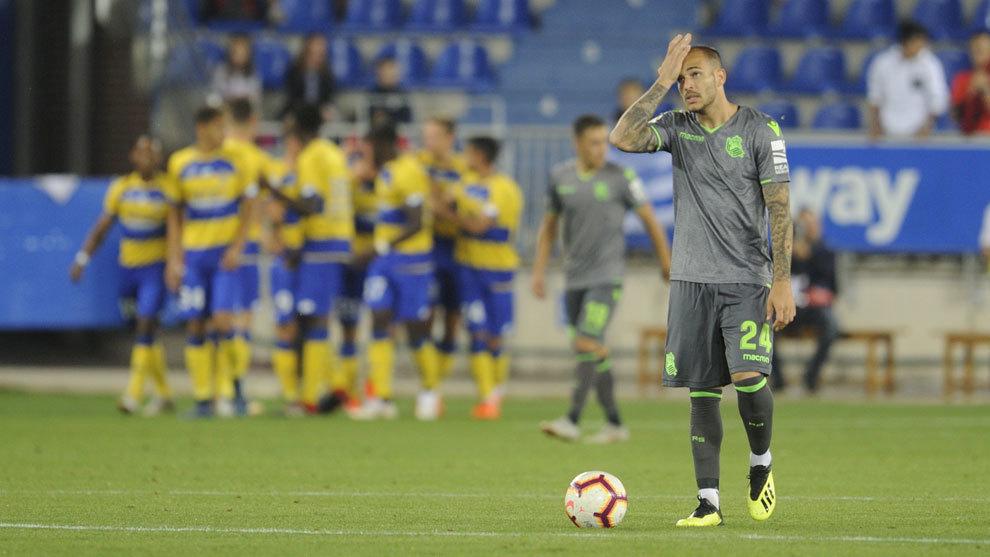 La presencia de Sandro Ramírez en el duelo contra el FC Barcelona...