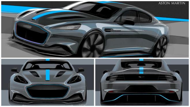 Aston Martin Comenzara Su Electrificacion Con El Rapide E Marca Com