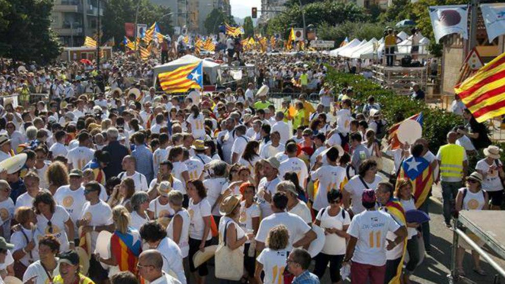 Diada de Cataluña 2017