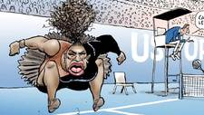 Críticas a una caricatura de Serena Williams por sexista y racista