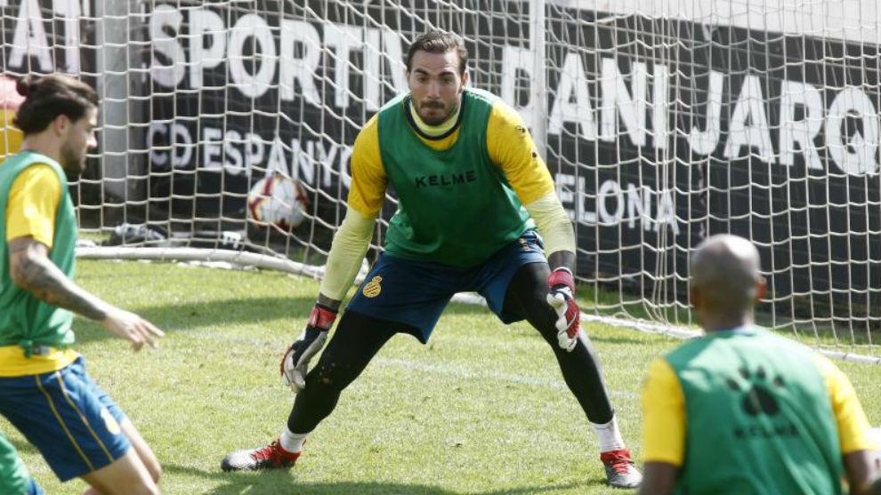 Roberto, en una acción durante una sesión.
