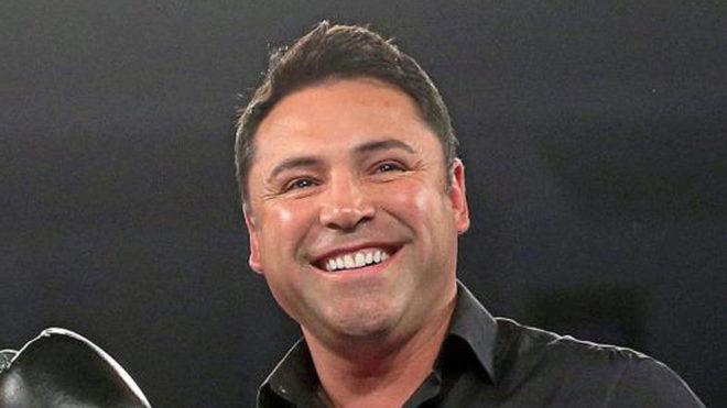 El exboxeador Óscar de la Hoya