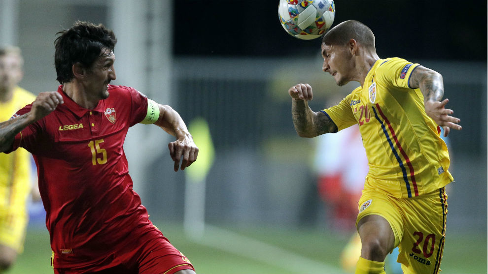 Savic suffered concussion for Montenegro in their game against...