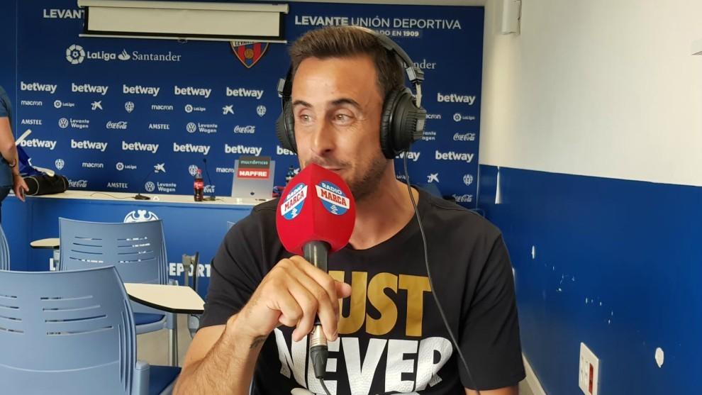 Pedro López durante su intervención en Radio MARCA Valencia.