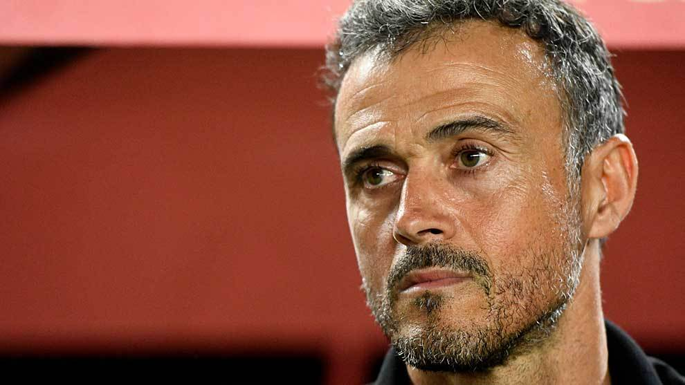 Luis Enrique admitted that it would be hard to find any reason to...