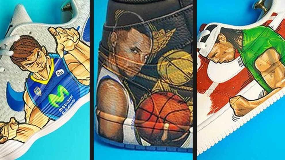 Las estrellas del baloncesto español se rinden a los diseños de