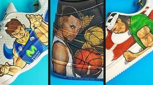 Las estrellas del baloncesto español se rinden a los diseños de <a...
