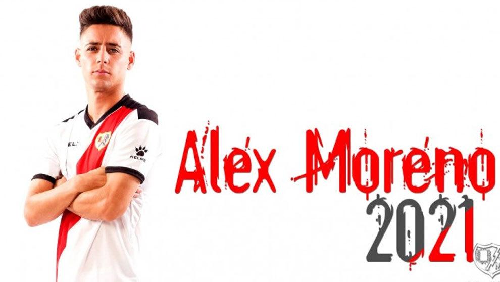 Renovación de Alex Moreno.