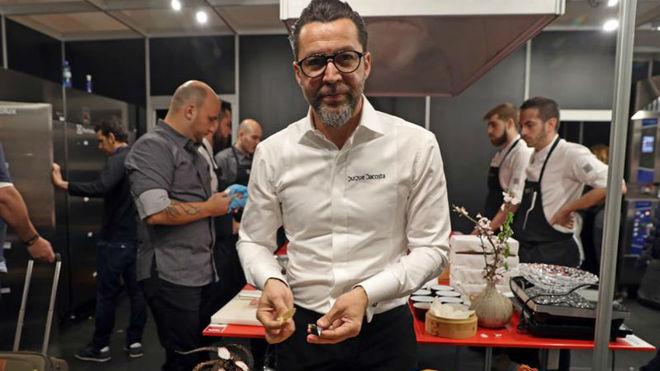 El cocinero Quique Dacosta.