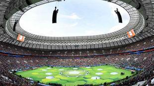 Ceremonia de inauguración del Mundial de Rusia