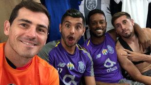 Así es la estancia de Casillas en el Porto.