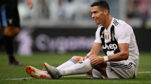Cristiano, con la Juventus.