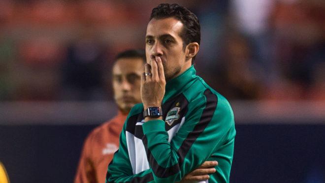Diego de la Torre, entrenador de los Cafetaleros.
