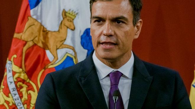 Pedro Sánchez, acusado de copiar en su tesis doctoral.
