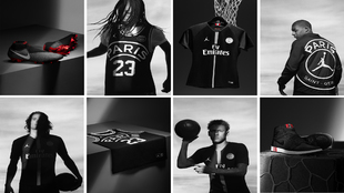 PSG y 'Air Jordan' se unen para la Champions