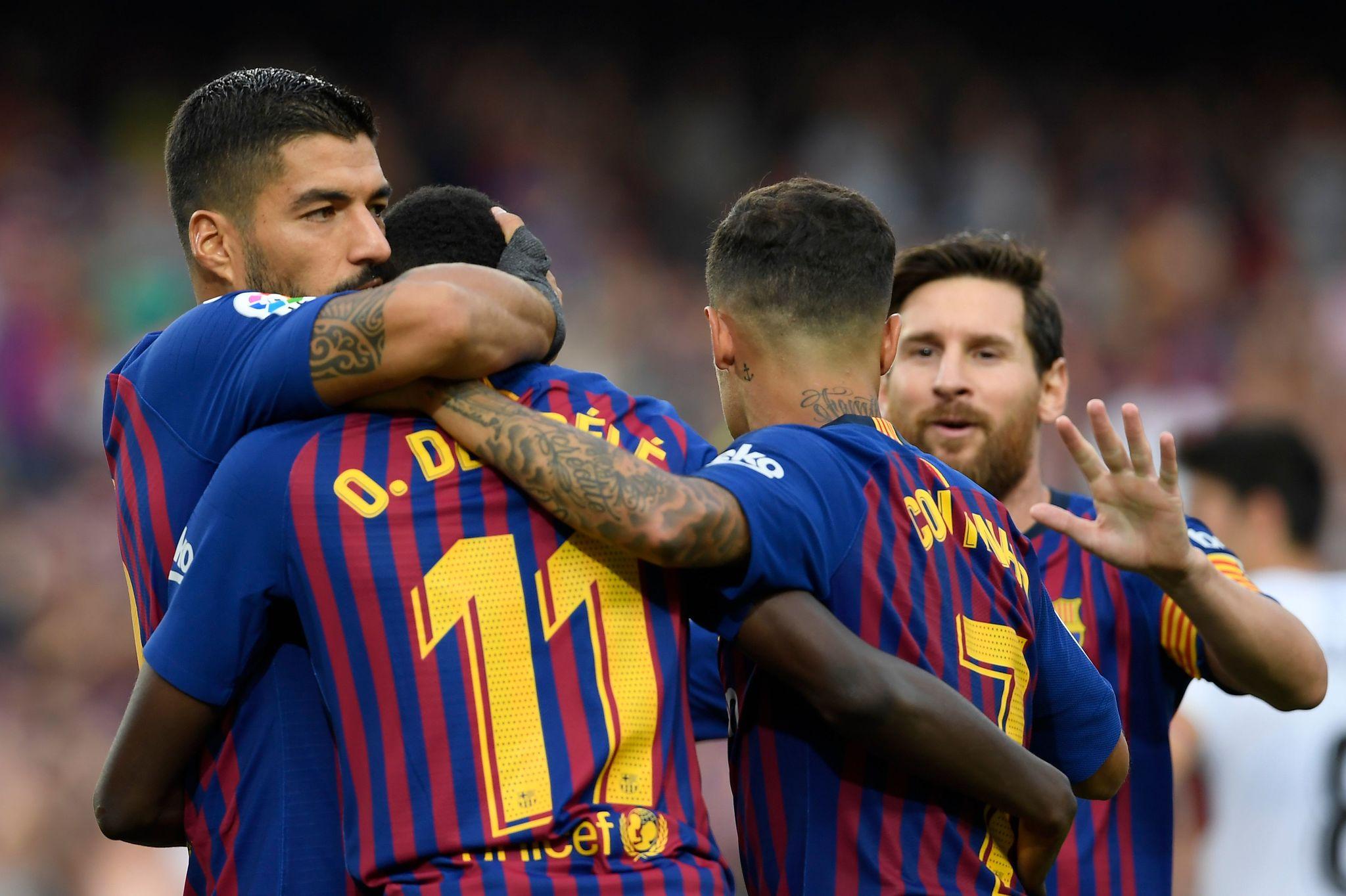 Dembele Ha Conseguido Dos Goles En Tres Partidos En La Liga