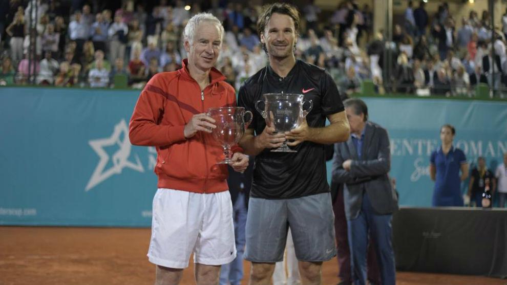 McEnroe y Moyá, últimos finalistas