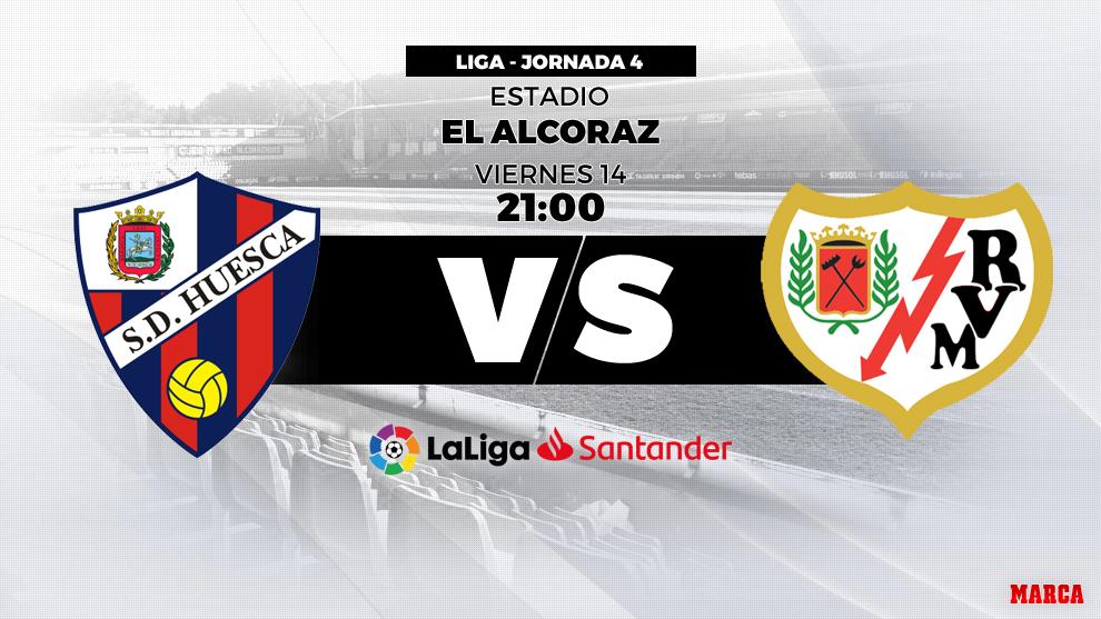 mejor lugar para imágenes detalladas Venta de liquidación Liga Santander 2018-19: Huesca vs Rayo: Horario y dónde ver ...