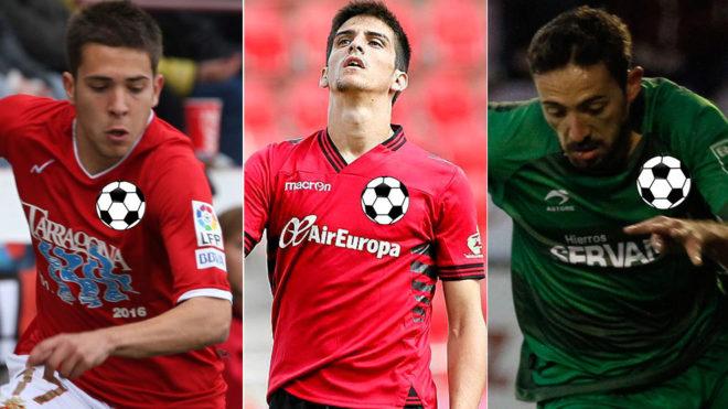 Jordi Alba, Gerard Moreno and Jose Luis Morales