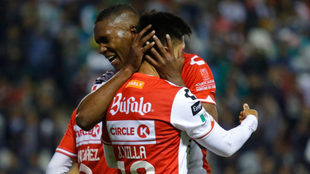 Necaxa goleó a León hace un torneo y terminó con su invicto