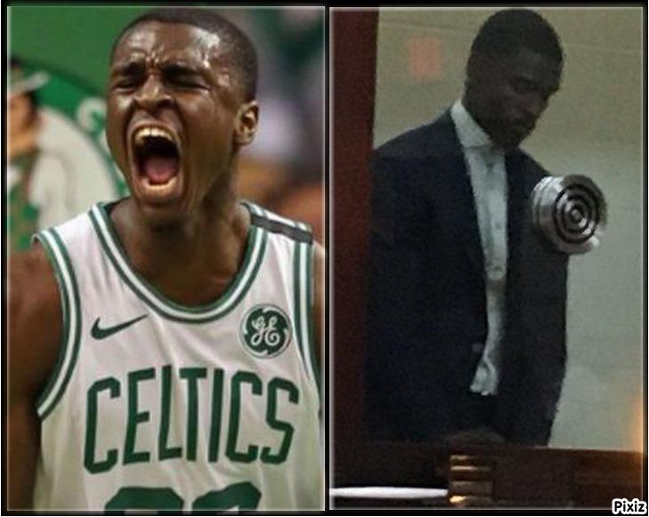 Jabari Bird, jugador de los Celtics, está siendo juzgado por...