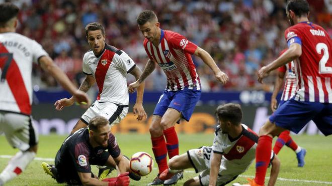 Photo from Atletico Madrid vs Rayo Vallecano in the Wanda...