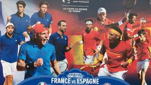 El cartel promocional de la eliminatoria