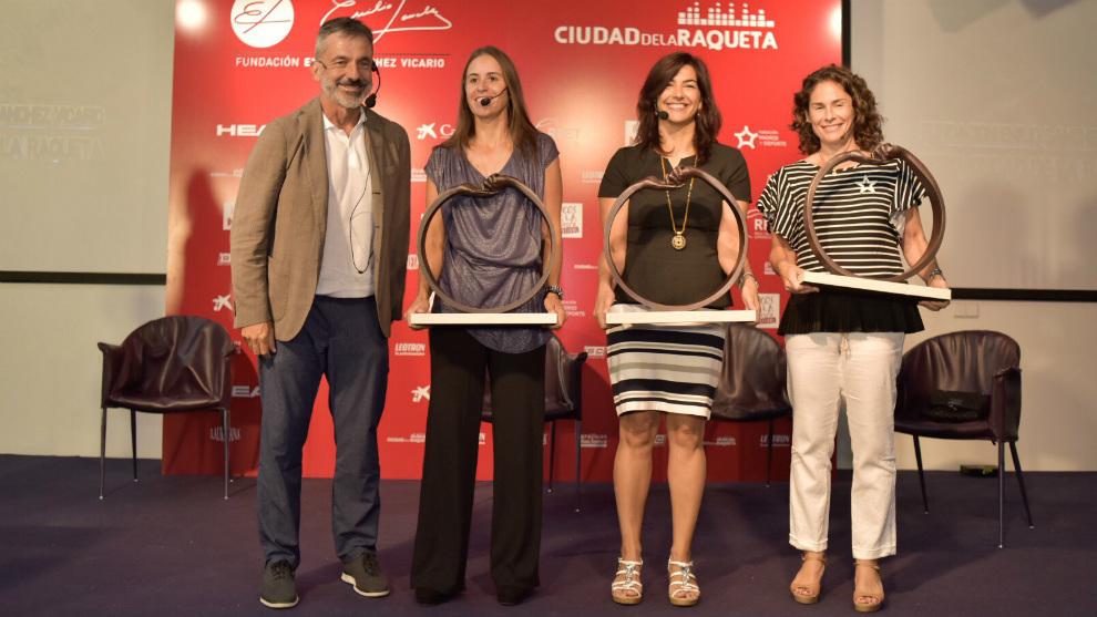 Emilio Sánchez Vciario, Anabel Medina, María José Rienda y Virginia...