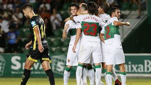 El Granada cayó en Copa del Rey contra el Elche.