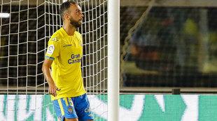 Deivid jugó en la derrota copera de la UD Las Palmas contra el...