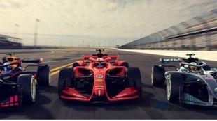 Formula One present car design concepts for the 2021 season