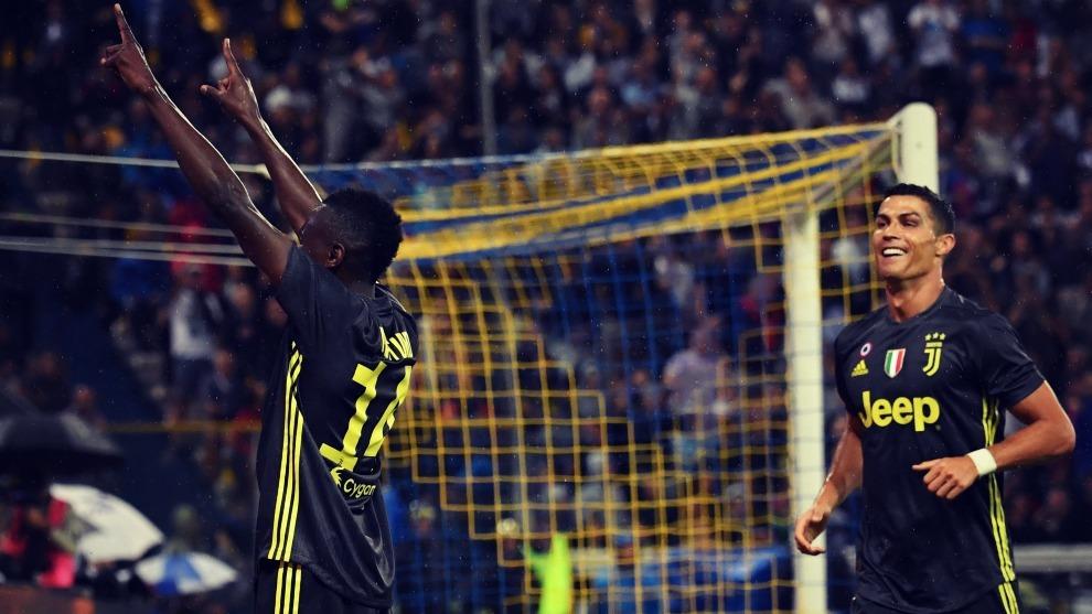 Cristiano Ronaldo ya ha celebrado siete goles con la Juventus pero...