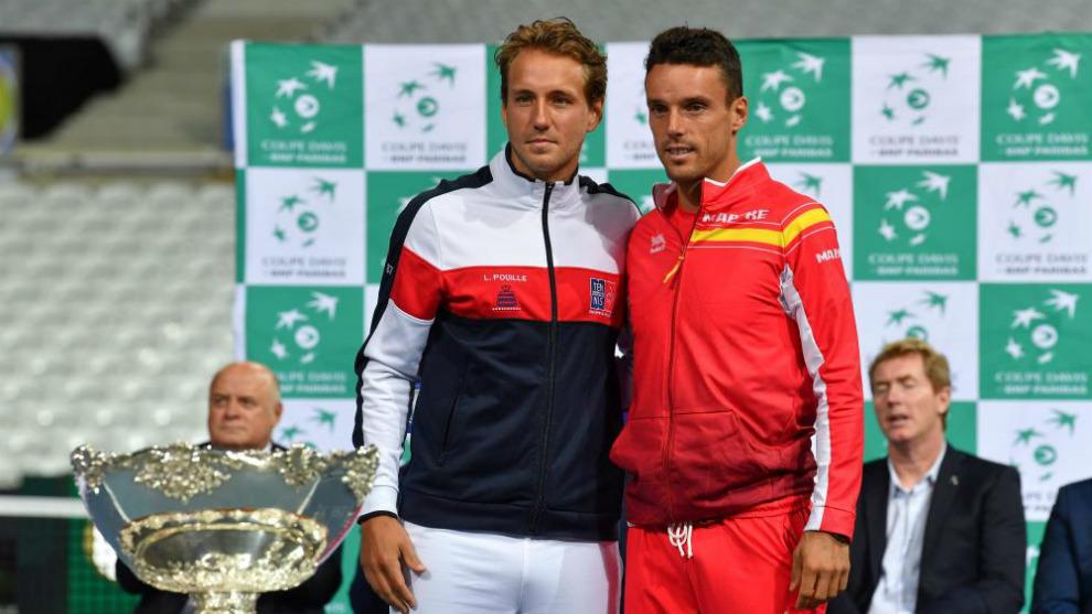 Roberto Bautista junto a Lucas Puoille