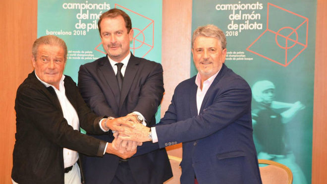 Agustí Brugués (Fed. Catalana), Xavier Cazaubon (Fed. Internacional)...