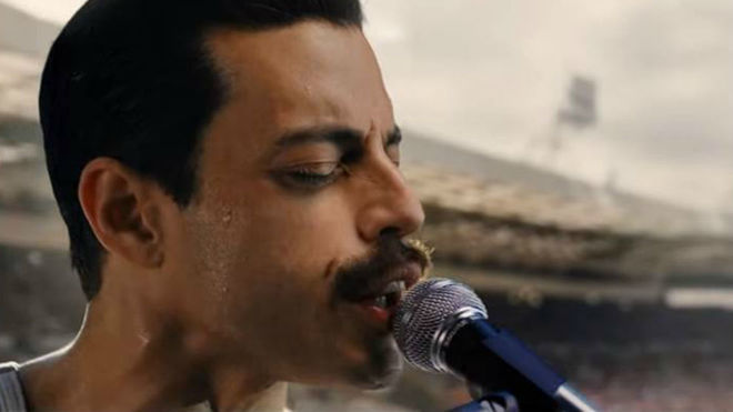 Rami Malek resucita a Freddie Mercury en 'Bohemian Rhapsody'