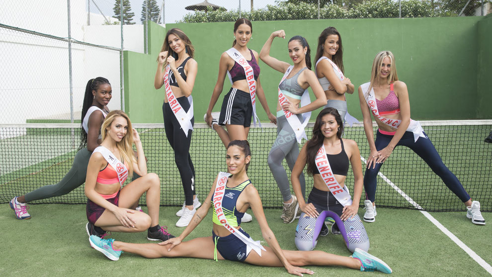 The sportiest Miss Spain 2018 contestants
