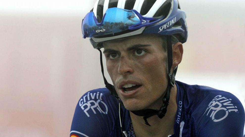 Enric Mas durante la Vuelta a España.