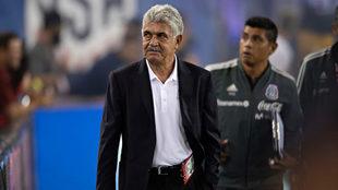 Ferretti en un partido del Tricolor.