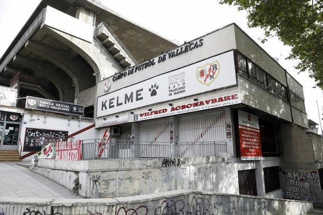 Obras en el estadio del Rayo Vallecano, Estadio de Vallecas