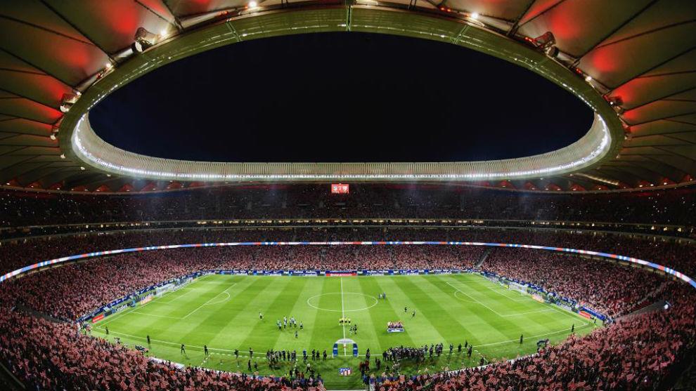 El Wanda Metropolitano en su inauguración.
