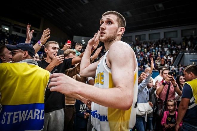 Sviatoslav Mykhailiuk tras el partido ante España